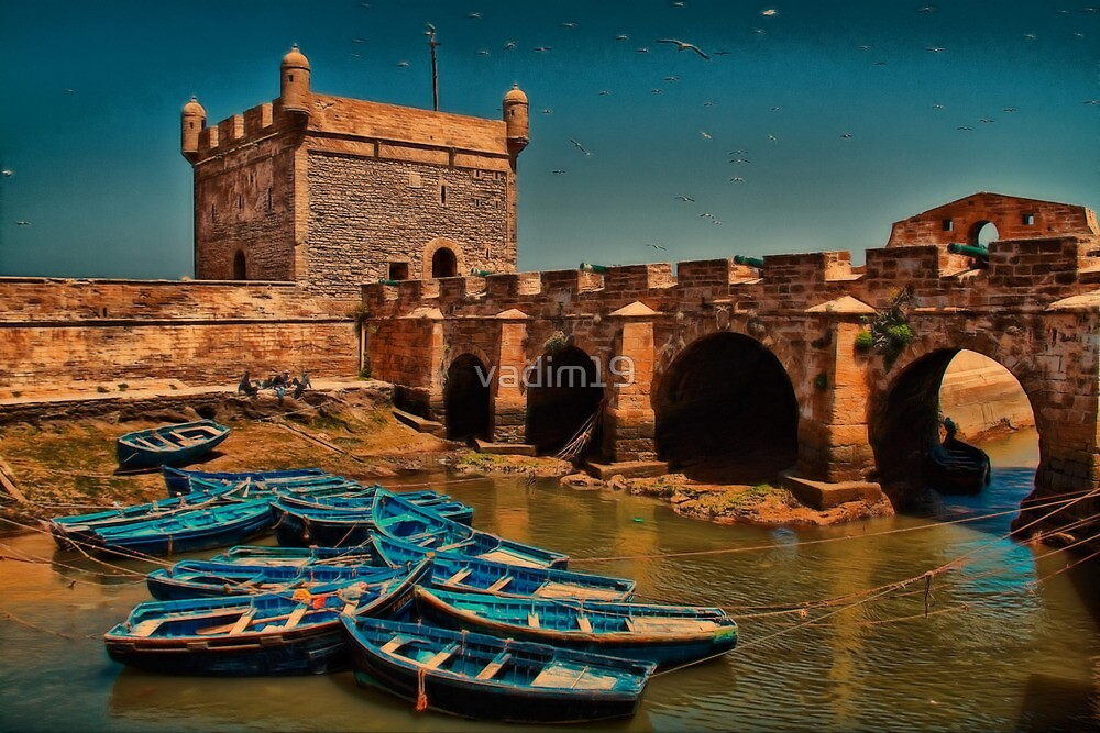 Morocco. The Bastion of Essaouira. by vadim19
