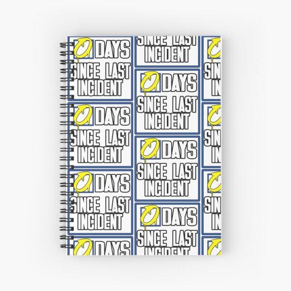 0 Days Spiral Notebook