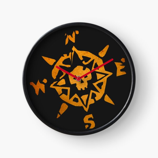 Sea of Thieves Compass Clock