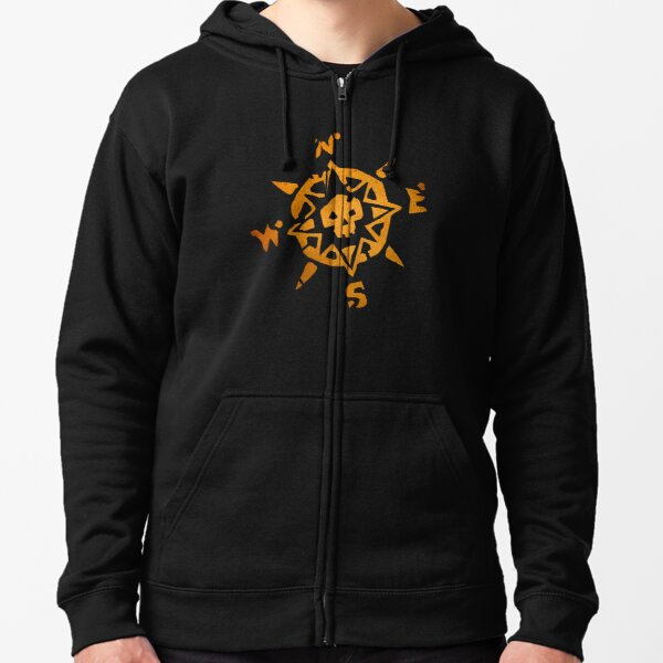 Sea of Thieves Compass Zipped Hoodie