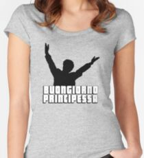 Buongiorno Principessa Women's Fitted Scoop T-Shirt