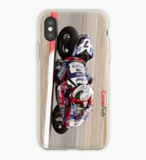 Carlos Checa at Miller Motorsports park 2012 iPhone Case