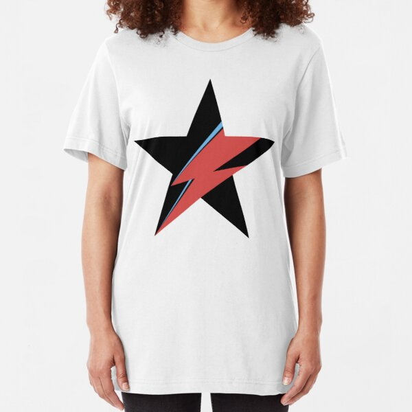 David Bowie Slim Fit T-Shirt
