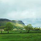 Green Cliffs by abiharrell