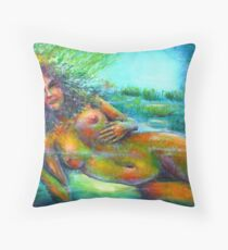 Unterwasser  6 Throw Pillow
