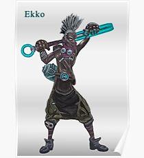 The time machine Ekko V2 jpeg version Poster