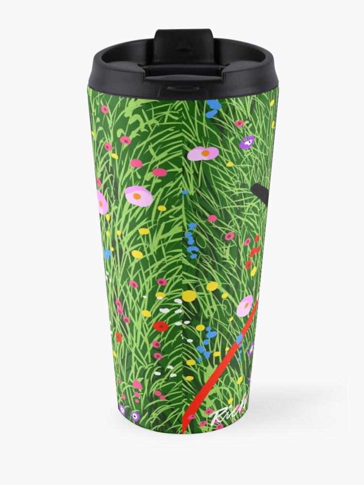 Alternate view of Roaching in the Wildflowers Travel Mug