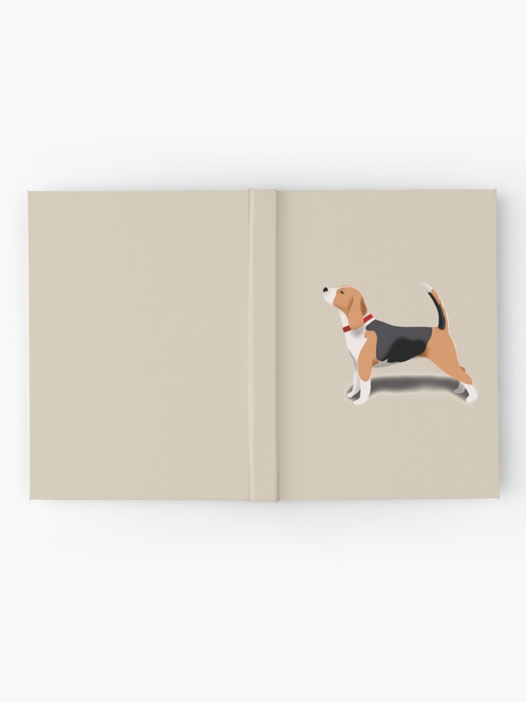 Alternate view of Beagle Hardcover Journal