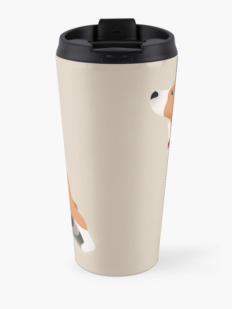 Alternate view of Beagle Travel Mug