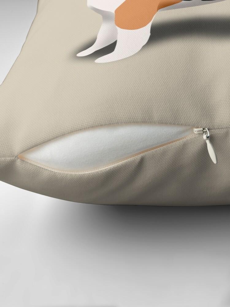 Alternate view of Beagle Throw Pillow