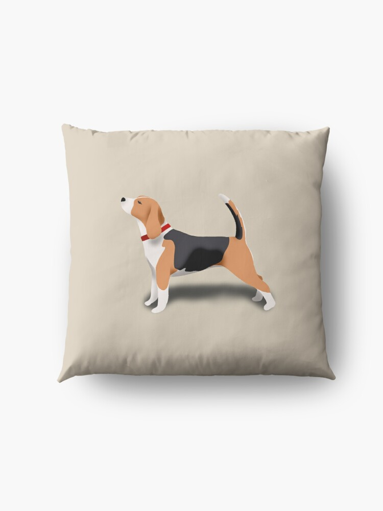 Alternate view of Beagle Floor Pillow