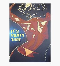 Party Time Woman Dancing In A Night Club Photographic Print