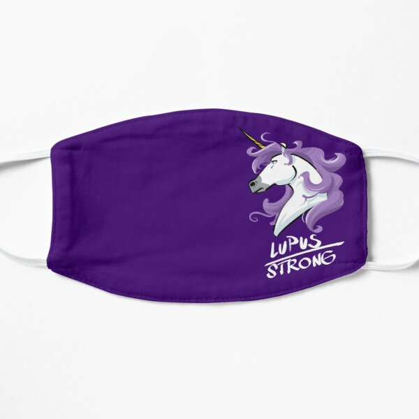 Lupus Strong Unicorn For Lupus Awareness Mask
