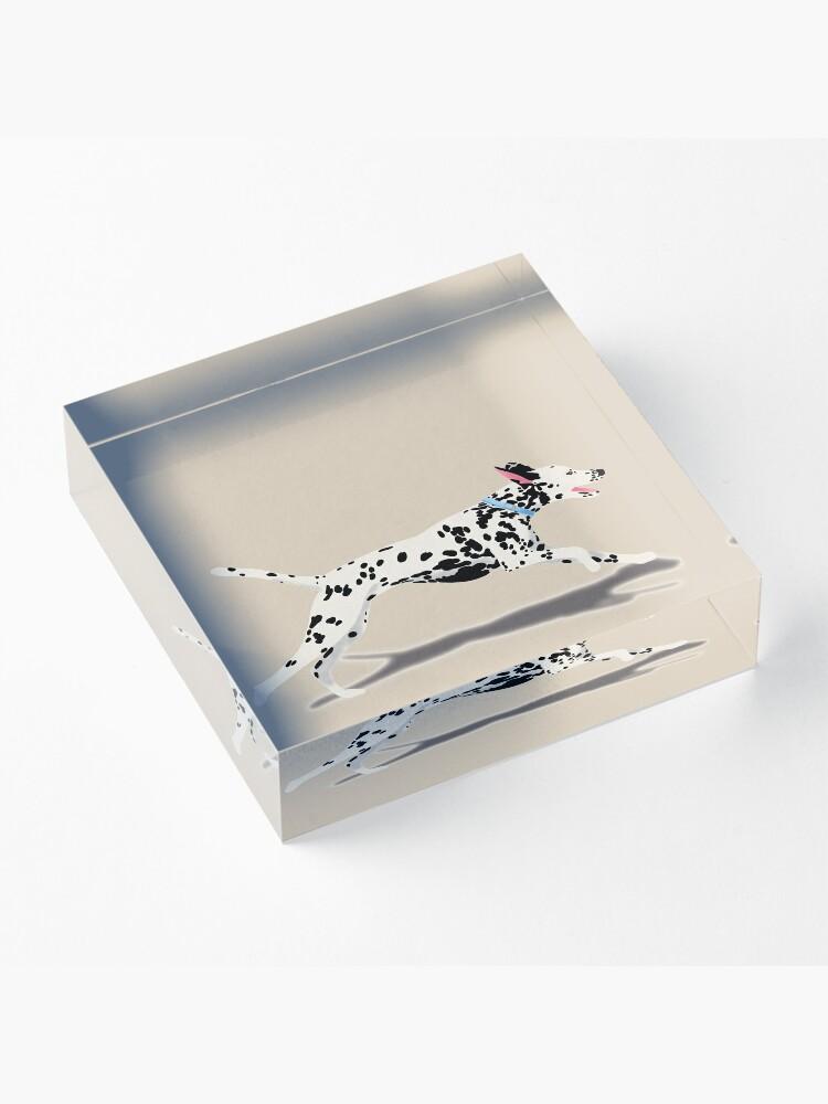 Alternate view of Dalmatian Acrylic Block