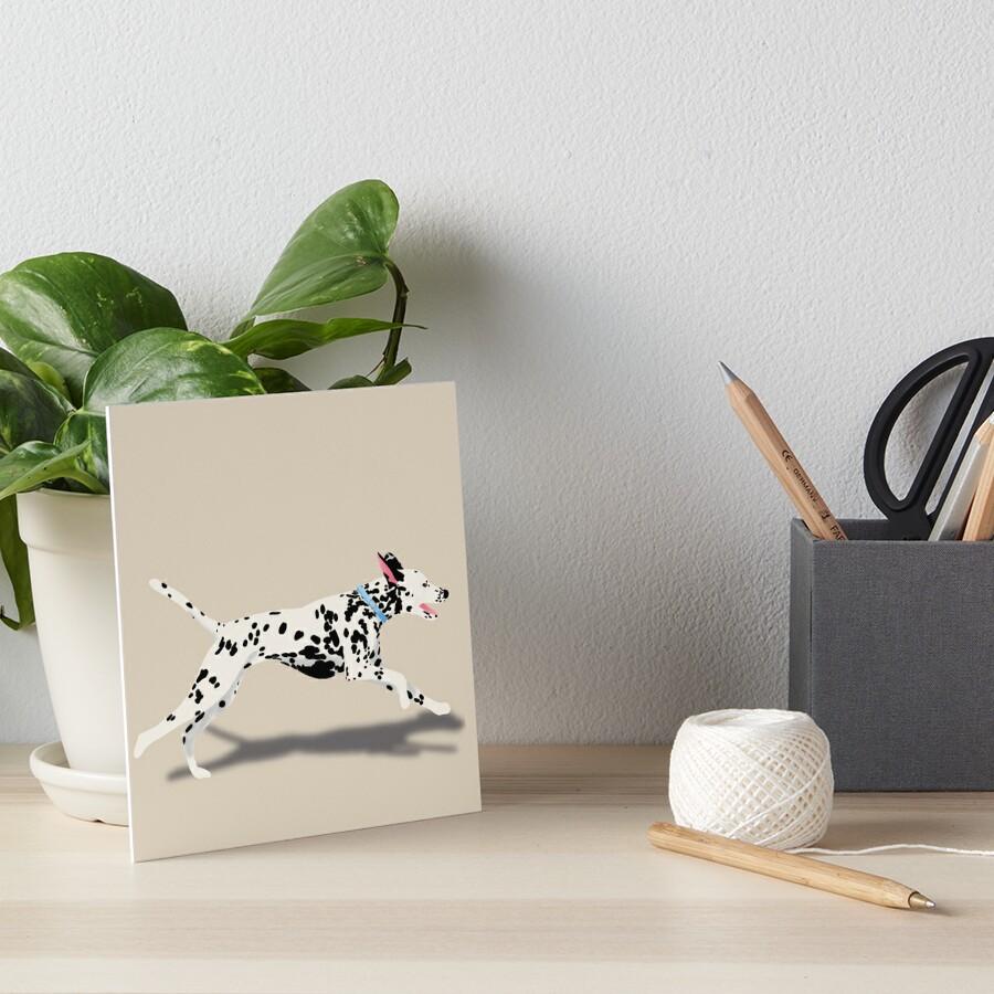 Dalmatian Art Board Print