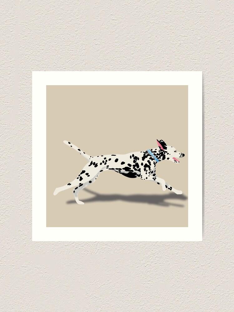 Alternate view of Dalmatian Art Print