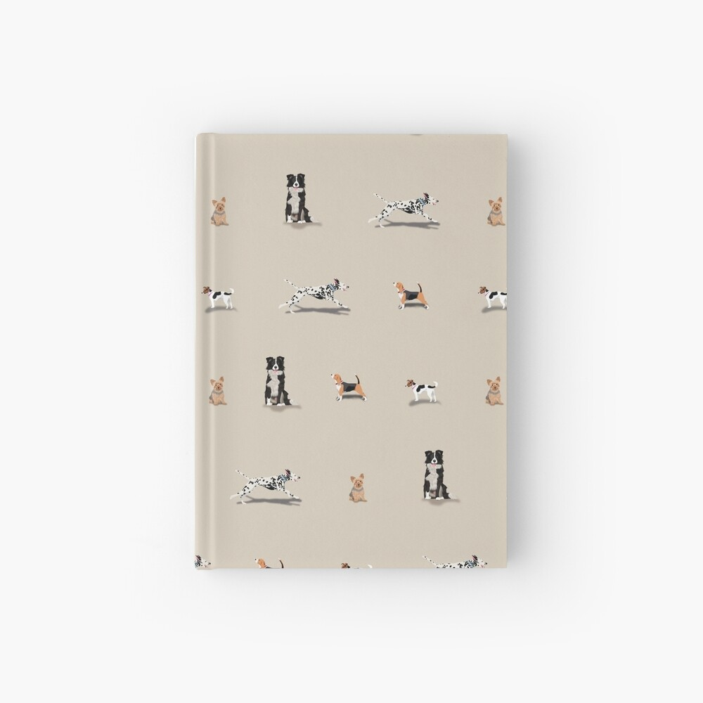 Dog Repeat Hardcover Journal