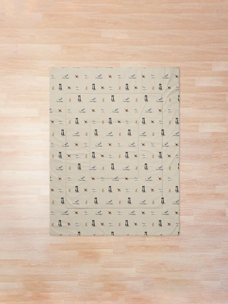 Alternate view of Dog Repeat Comforter