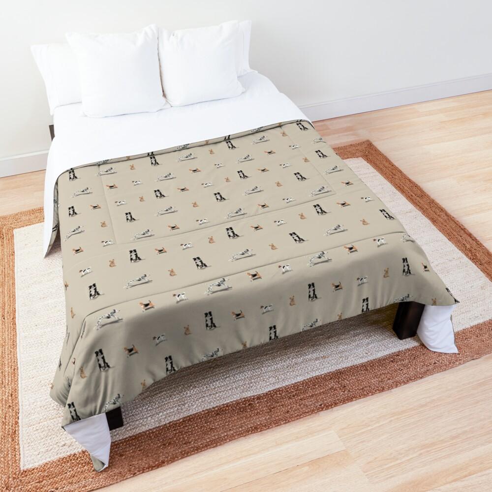 Dog Repeat Comforter