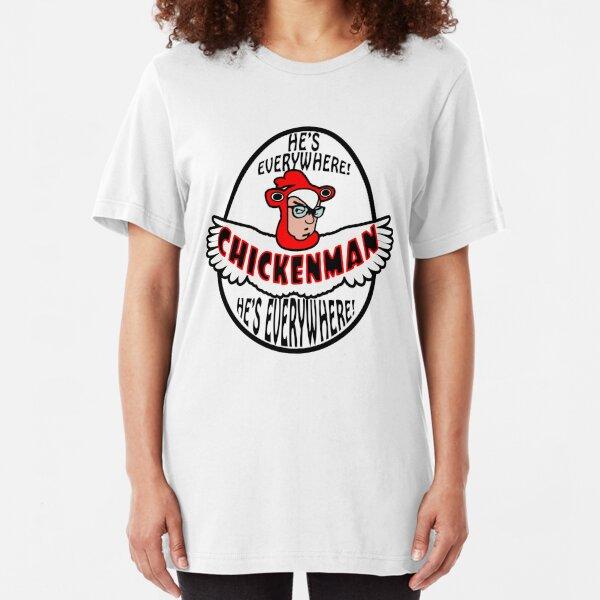 Chicken Man! Slim Fit T-Shirt