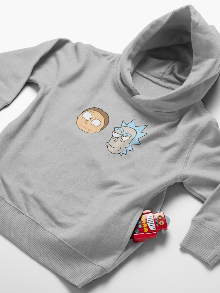 Alternate view of Rick and Morty Toddler Pullover Hoodie