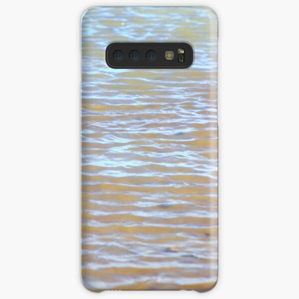Low tides shimmer beach texture Samsung Galaxy Snap Case