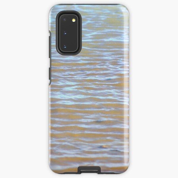 Low tides shimmer beach texture Samsung Galaxy Tough Case