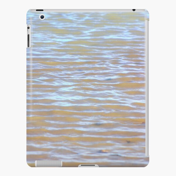 Low tides shimmer beach texture iPad Snap Case