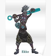 The time machine Ekko V2 png version Poster