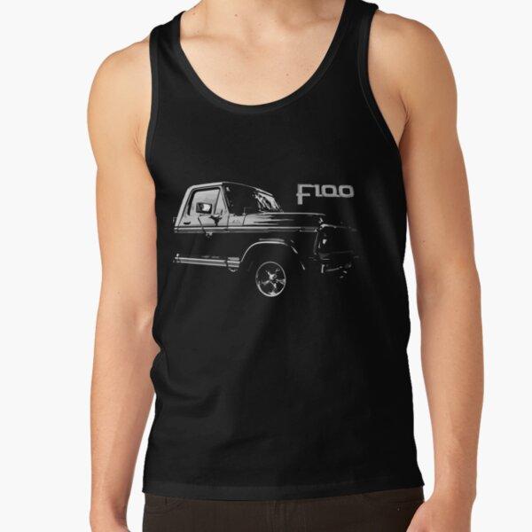 Ford F100 Ranger Vintage Truck Tank Top