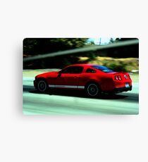 Mustang Pure Speed Canvas Print