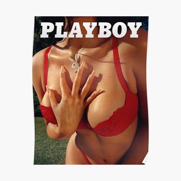 Vintage Playboy Photography Poster