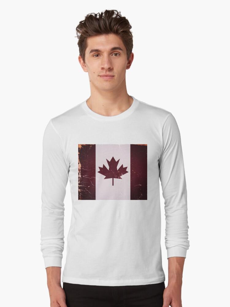 Vintage Canada Flag by Nhan Ngo