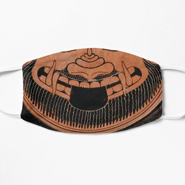 Archenerd: A signed attic Goroneion: Ergotimos feat Kleitias (All-face design) Flat Mask