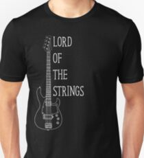 Lord Of The Strings Electric Guitar T Shirt T-Shirt