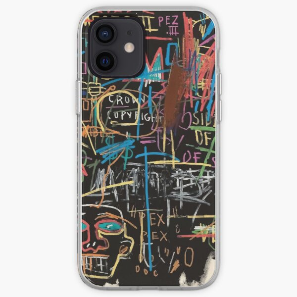 Vectorised famous New York street art / pop art from the 70s. iPhone Soft Case