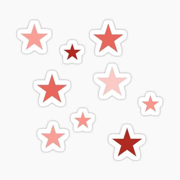 Pink Star Pack Sticker