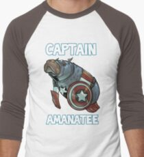 Captain Amanatee SALE! Men's Baseball ¾ T-Shirt