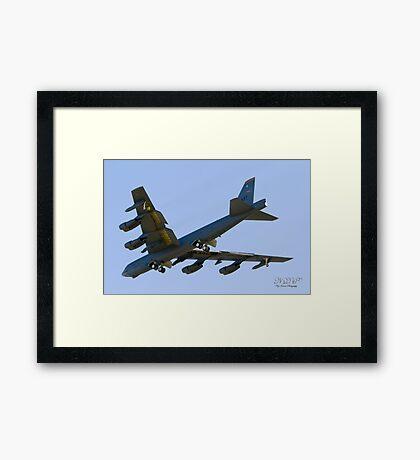 USAF Boeing B52H Stratofortress Framed Print