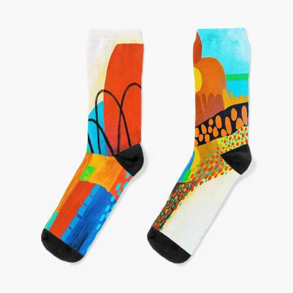 Happy Landscape Socks
