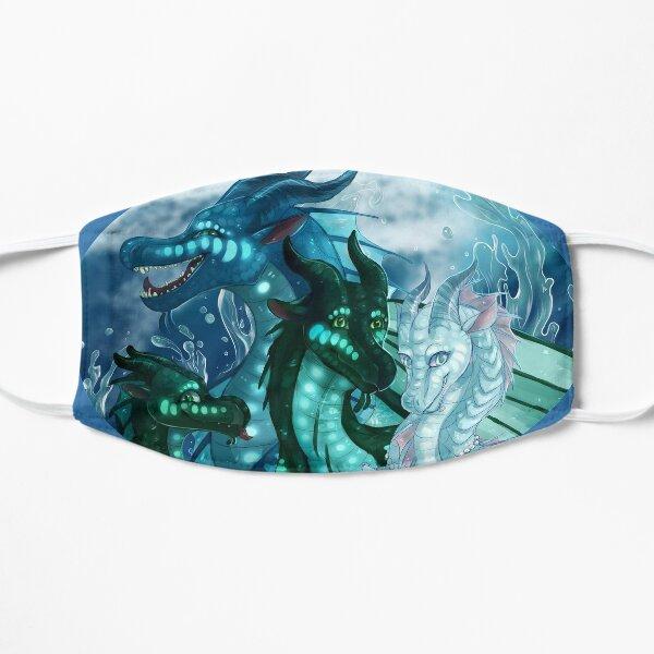 Wings of Fire - Royal SeaWings - Auklet, Tsunami, Turtle, Anemone Mask