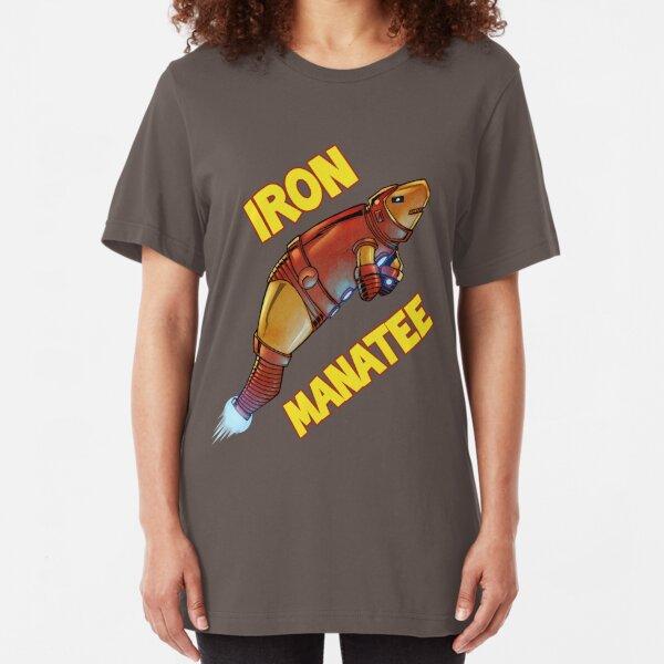 Iron Manatee SALE! Slim Fit T-Shirt