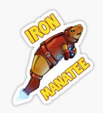 Iron Manatee SALE! Sticker