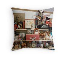My Shelves #1 Throw Pillow