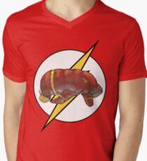 Flashatee SALE! Mens V-Neck T-Shirt