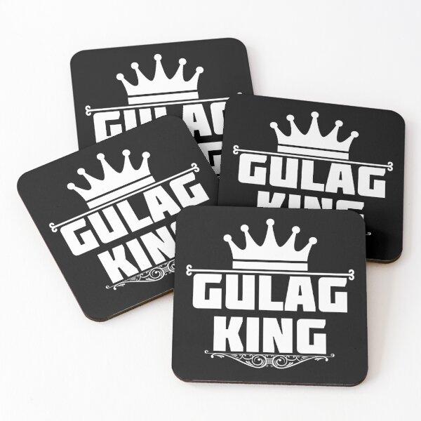 Gulag King Coasters (Set of 4)