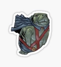 Martian Manatee Hunter SALE! Sticker