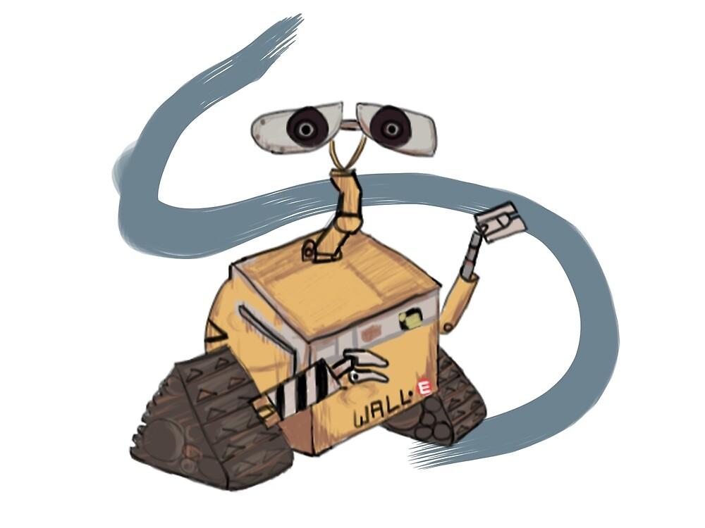 Wall-E by mindofamonkey