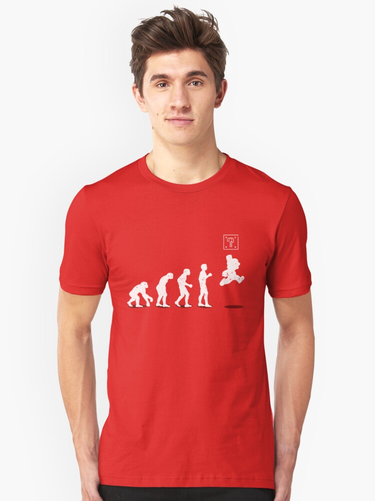 Evolution Unisex T-Shirt Front