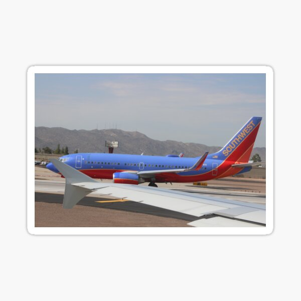 Southwest Airlines Sticker